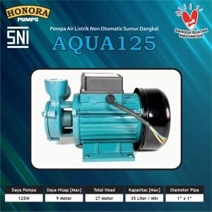 Harga pompa air listrik rumah sumur dangkal honora aqua 125 bisa auto | HARGALOKA.COM
