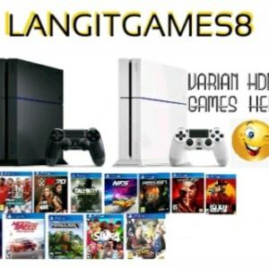 Harga ps4 playstation fat hdd 500gb 1tb isi games stik wirelles   hdd500 | HARGALOKA.COM