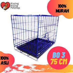 Harga kandang b03 size 75cm kandang kucing anjing kuat murah gojek grab | HARGALOKA.COM