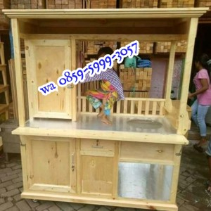 Harga gerobak bakso kayu jati | HARGALOKA.COM