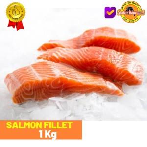Harga salmon fillet top ikan laut segar beku promo murah terlaris 1 | HARGALOKA.COM