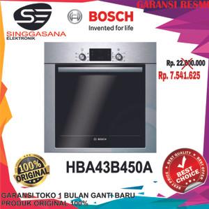 Harga oven bosch hba43b450a 60cm built in single oven bosch | HARGALOKA.COM