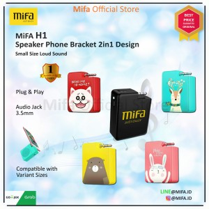 Harga speaker xiaomi mifa h1 portable audio stereo plug and play original   merah | HARGALOKA.COM