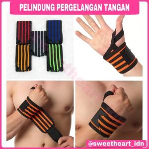 Harga deker pelindung tangan wristband knee   HARGALOKA.COM