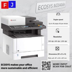 Harga mesin fotocopy kyocera ecosys m2040dn garansi resmi   toner | HARGALOKA.COM