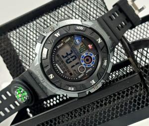 Harga jam tangan pria digital quiksilver tali jam tangan karet rubber   | HARGALOKA.COM