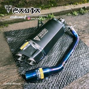 Harga knalpot racing pavta adventure fullsystem nmax aerox pcx | HARGALOKA.COM