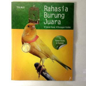 Harga buku hobi  rahasia burung   HARGALOKA.COM