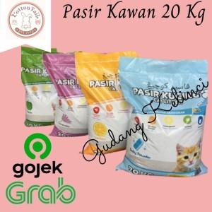 Katalog Pasir Kucing Kawan Cat Litter 20kg Pasir Gumpal Wangi Katalog.or.id
