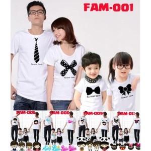 Harga kaos keluarga baju family couple free nama   | HARGALOKA.COM