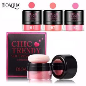 Harga blush on bioaqua chic trendy soft rose no | HARGALOKA.COM