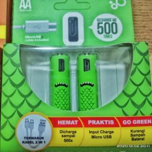 Harga batre inovasi baru go green bisa isi ulang semudah ngechas | HARGALOKA.COM