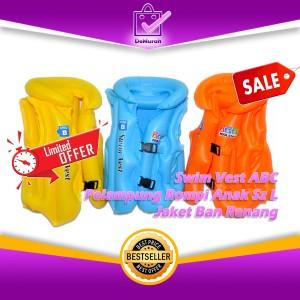 Harga 0332 swim vest abc pelampung rompi anak sz l jaket ban renang   | HARGALOKA.COM