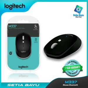 Harga wireless mouse logitech m337 bluetooth laptop pc original   | HARGALOKA.COM