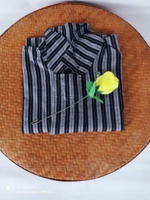 Harga baju surjan adat jawa dewasa baju surjan hitam putih lengan panjang   | HARGALOKA.COM