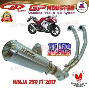 Harga cld type gp monster series ninja 250 fi 2017 knalpot racing | HARGALOKA.COM