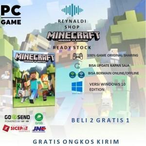 Harga minecraft windows 10 edition pc original   | HARGALOKA.COM