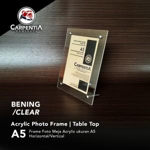 Harga acrylic photo frame table top   bingkai foto akrilik meja untuk uk | HARGALOKA.COM