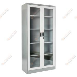 Harga lemari arsip kantor besi 2 pintu swing kaca 5 | HARGALOKA.COM