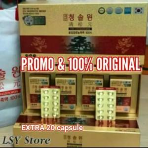 Harga promo redpine korea paket 2 bulan isi 120 caps extra red pine 20 | HARGALOKA.COM