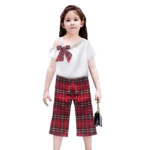 Harga two mix setelan baju anak perempuan fashion korea 4115 usia 1 8 tahun   cokelat | HARGALOKA.COM