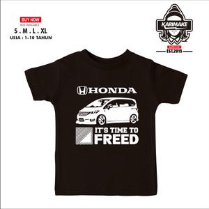 Harga kaos baju anak honda freed its time to freed kaos otomotif   | HARGALOKA.COM