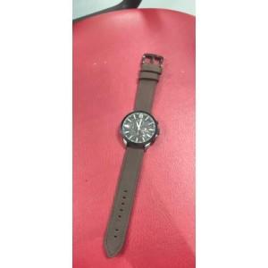 Harga jam tangan pria murah swissarmy analog tali kulit premium waterproof   cokelat tua | HARGALOKA.COM