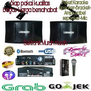 Harga paket karaoke speaker linkmaster speaker karaoke rumahan | HARGALOKA.COM