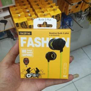 Harga hf handsfree headset realme buds 02 plus hd sound quality | HARGALOKA.COM