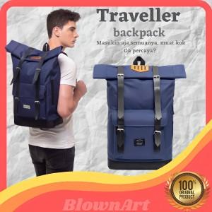 Harga tas ransel pria backpack travelling adventure gunung hiking laptop   | HARGALOKA.COM