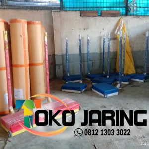 Harga tiang badminton portable free net | HARGALOKA.COM