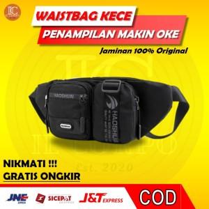 Harga waistbag pria waist bag cowok anti air waterproof tas selempang murah   | HARGALOKA.COM