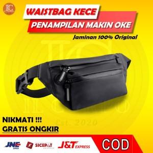Harga waistbag pria wanita original yqm 1 tas selempang cowok murah anti air   | HARGALOKA.COM