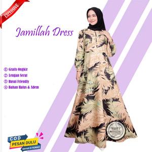 Harga promo baju gamis cewek wanita syari muslim terbaru jumbo murah new   | HARGALOKA.COM