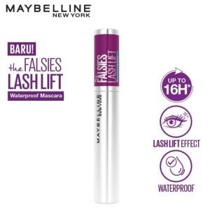 Harga maybelline the falsies lash lift waterproof very black | HARGALOKA.COM
