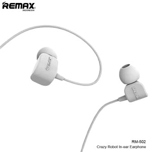 Harga remax crazy robot in ear earphone rm 502   | HARGALOKA.COM