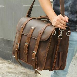 Harga tas laptop kulit asli   tas laptop kerja   messenger bag   travel | HARGALOKA.COM