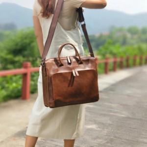 Harga tas laptop wanita kulit asli   messenger bag   tas laptop | HARGALOKA.COM