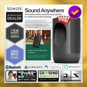 Harga sonos move wireless rechargeable weather resistant outdoor speaker   | HARGALOKA.COM