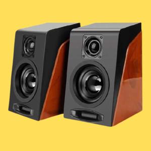Harga hifi desktop multimedia stereo speaker 2 0 channel speaker pc | HARGALOKA.COM