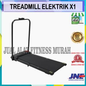 Harga alat fitness treadmill elektrik x 1 bisa cod | HARGALOKA.COM