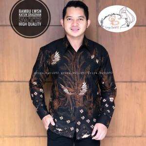 Harga baju batik pria kemeja kondangan casual formal seragam kondangan   | HARGALOKA.COM