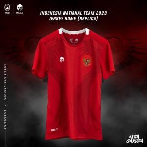 Harga mills timnas indonesia jersey home replica version 1014gr 100 original     HARGALOKA.COM