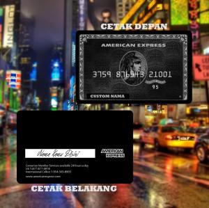 Harga kartu flazz bca gen 2 custom emoney design amex black card e money   brizzi bri cetak   HARGALOKA.COM