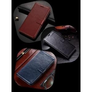 Harga leather flip case oppo a15 2020 wallet dompet | HARGALOKA.COM