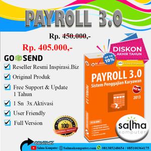 Harga sb026   payroll 3 0   sistem penggajian   HARGALOKA.COM