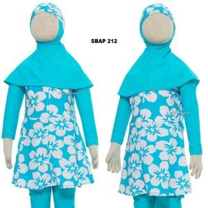 Harga baju renang anak muslim muslimah wanita perempuan cewek sulbi sbap   1 2 3 tahun baju | HARGALOKA.COM