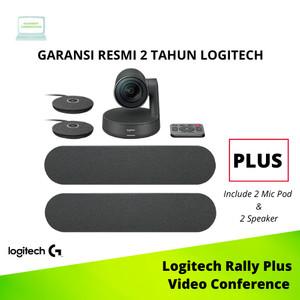 Harga logitech rally plus system ultra hd video conference | HARGALOKA.COM