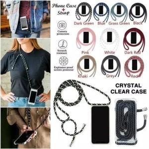 Harga case casing cover transfarant strap tali gantung huawei honor | HARGALOKA.COM