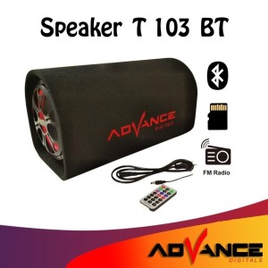 Harga t 103bt bluetooth 8 34 speaker subwoofer advance karaoke radio | HARGALOKA.COM